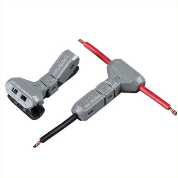 18 gauge wire connectors t tap electrical solderless automotive butt splice JWT-T2