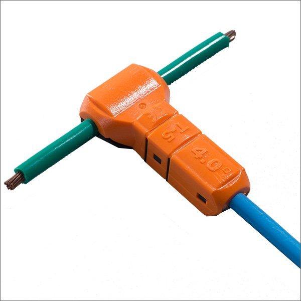 12 gauge wire connectors t tap electrical solderless automotive butt splice JWT-T5