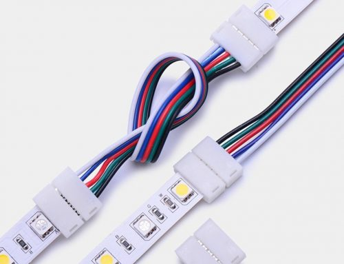 How to choose a led strip connector for a RGB/RGBW led light strip?