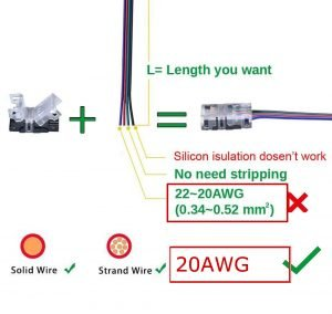 4 Pin RGB Strip to Wire Connectors Reviews for 2020: The Ultimate Guide vanconn.com