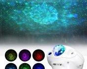 Galaxy Star Projector, Laser Starry Nebula Sky Night Light Ambiance Projection